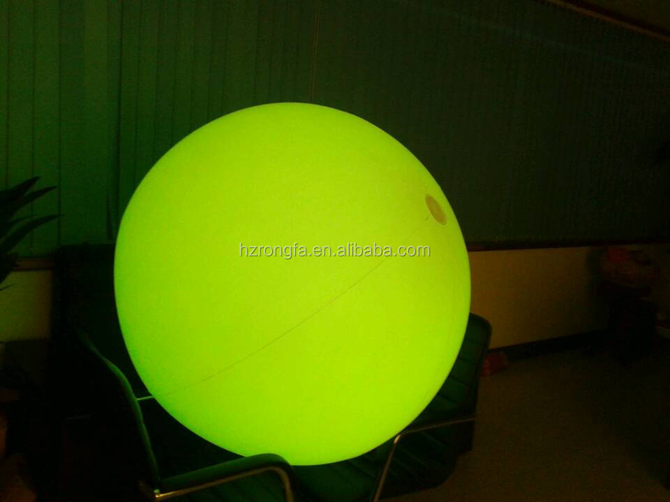 zygote interactive ball, inflatable crowded ball,led PVC inflatable ball for party
