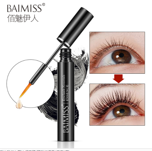 BAIMISS Eyelash Growth Serum 6ml Makeup Eyelash Growth Eyebrow Treatments Liquid Serum Enhancer Eye Lash Longer Thicker