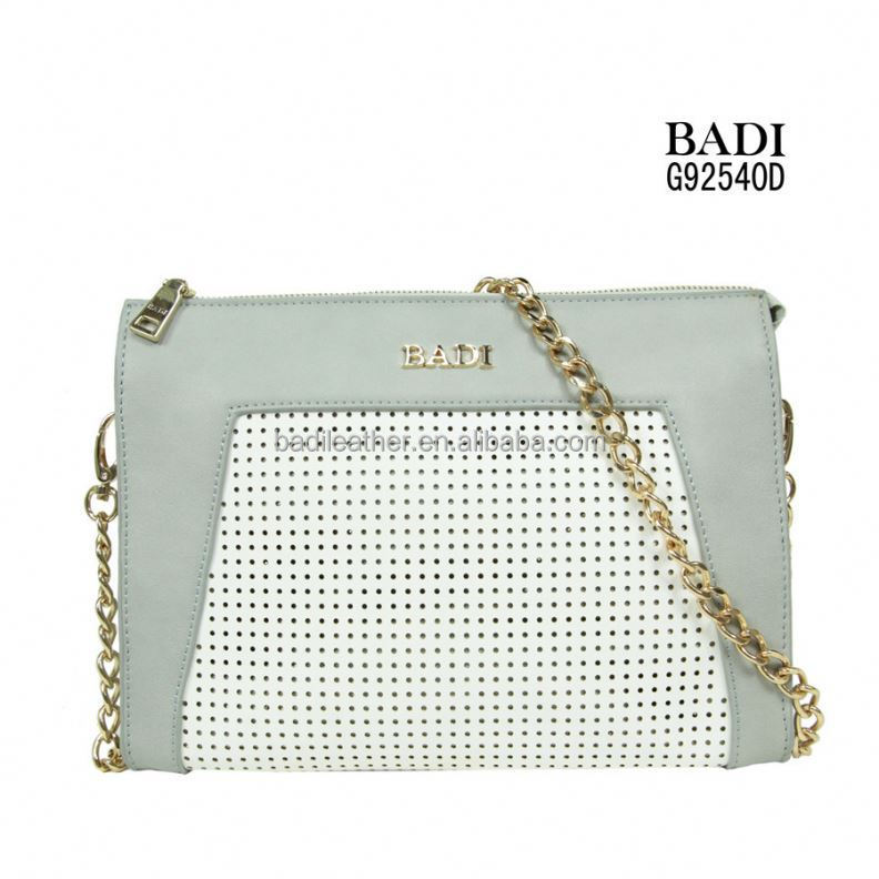 fashionable women leather bling bag