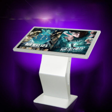 floor stand 55inch android WIFI LCD touchscreen advertising player totem kiosk
