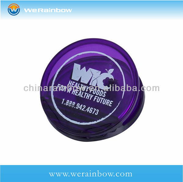 wholesale office plastic clear round clip
