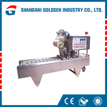 Quality assurance yogurt cup filling machine,hot filling sealing equipment.drinking water making machine