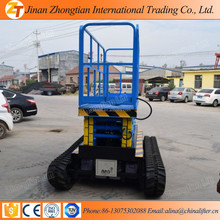 Electric Track Crawler Scissor Lift Man lift ,Diesel Tracked Scissor Lift