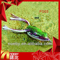 soft plastic fishing lures frog