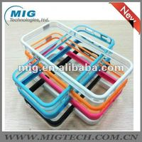 "for iphone5"" cover,bumper case with 2 metal buttons for iphone5S"
