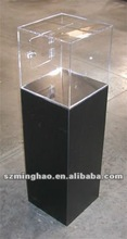 clear floor standing Acrylic suggestion/donation box