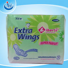 Brand Sanitary Napkin/customized kinds of pad/Best sanitary napkins from Quanzhou China