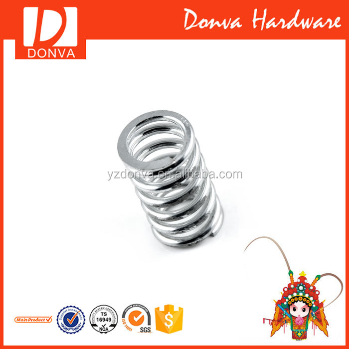 compression spring clip for rope