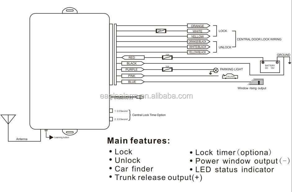 Valet Remote Car Starter Wiring Diagram : Wiring diagram valet remote car starter