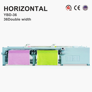 YBD36 Digital Controlled Horizontal Quilting Embroidery Machine double width 50.8mm needle distance