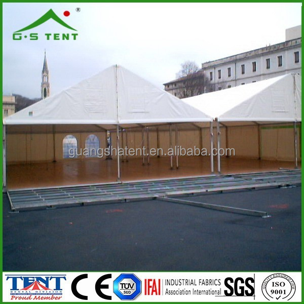 large outdoor meeting conference tent