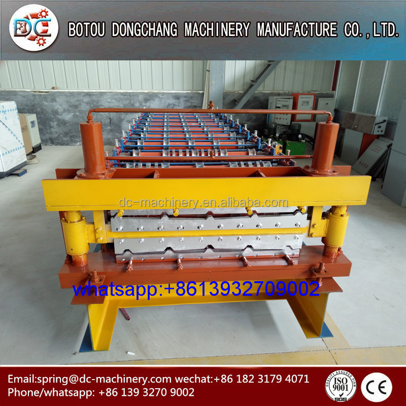 ceramic tile making machine, used double layer roof roll forming machine