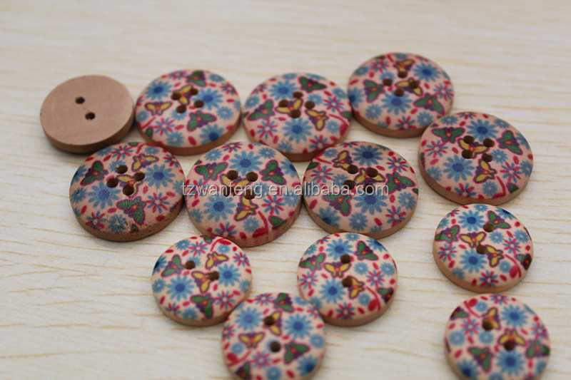 Engraved wooden buttons custom clothing buttons new hair accessory as seen on tv