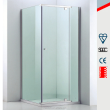 polished aluminium profile square corner simple shower room MD-P013