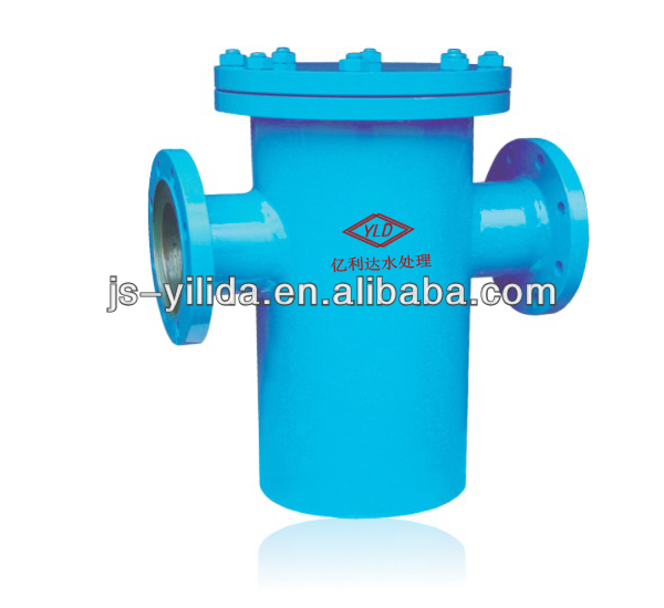 Carbon steel shell and SS304 basket screen Water Filter