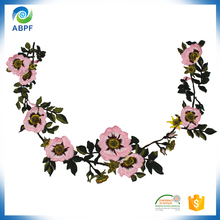 Emboridery bulk artificial flowers for sale