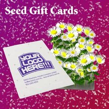 Recycled Seed Card for Giveaway Events