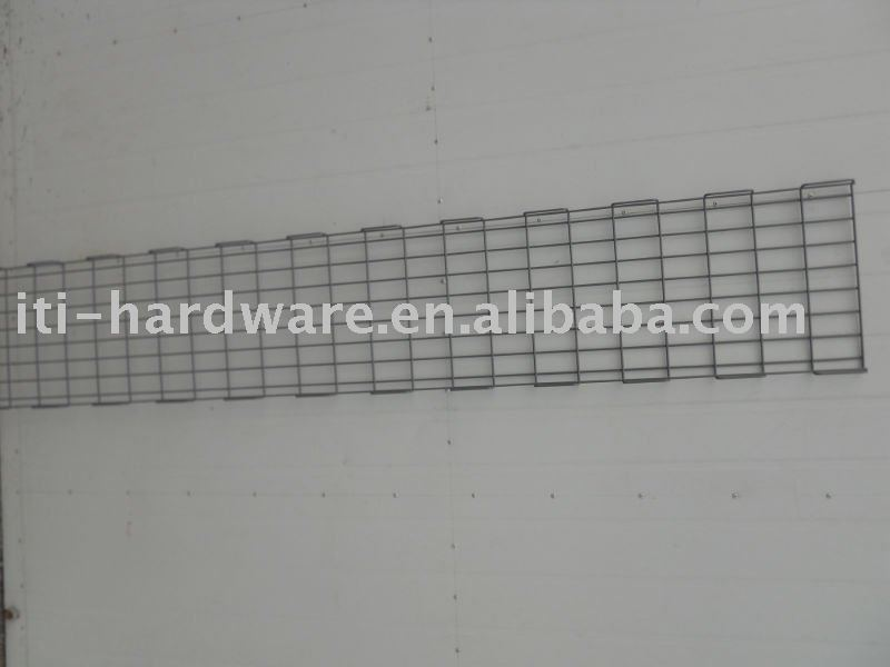 metal wire trough