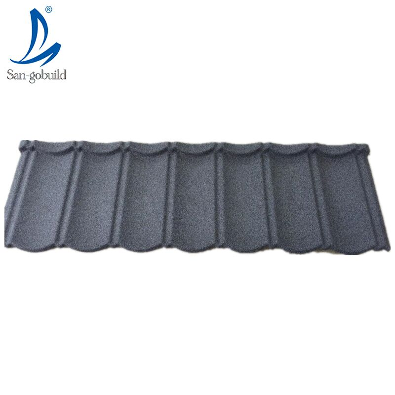 Colorful Stone Coated Metal Types Of Zinc Aluminum Roofing Sheets In Nigeria From Chinese Factory