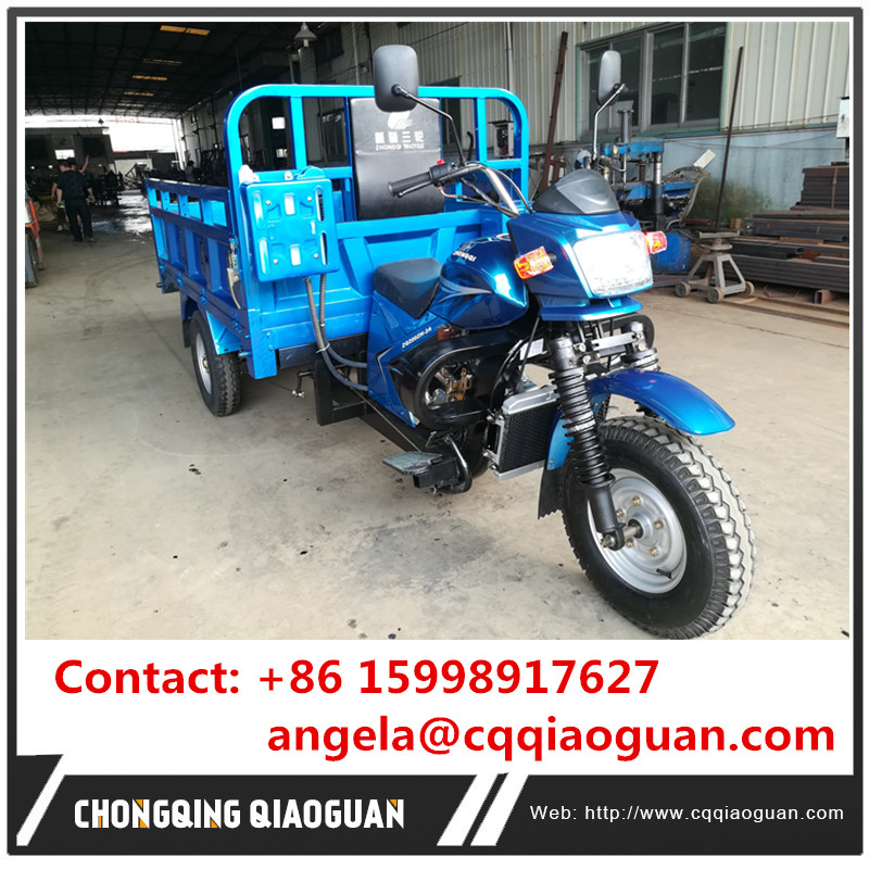 Made in China Chongqing Motor Metal Tricycle 200cc Engine Tricycles for Adults