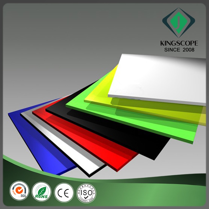 High impact scratch resistance green pvc free foam board