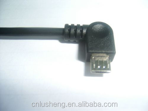 90 degree angle usb am to micro bm cable