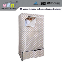 DIY producer supply cabinet stackable storage wardrobe with joints