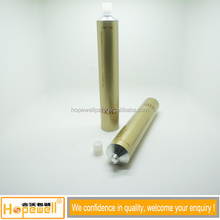 High quality metallic color with threaded aluminum tube cosmetic