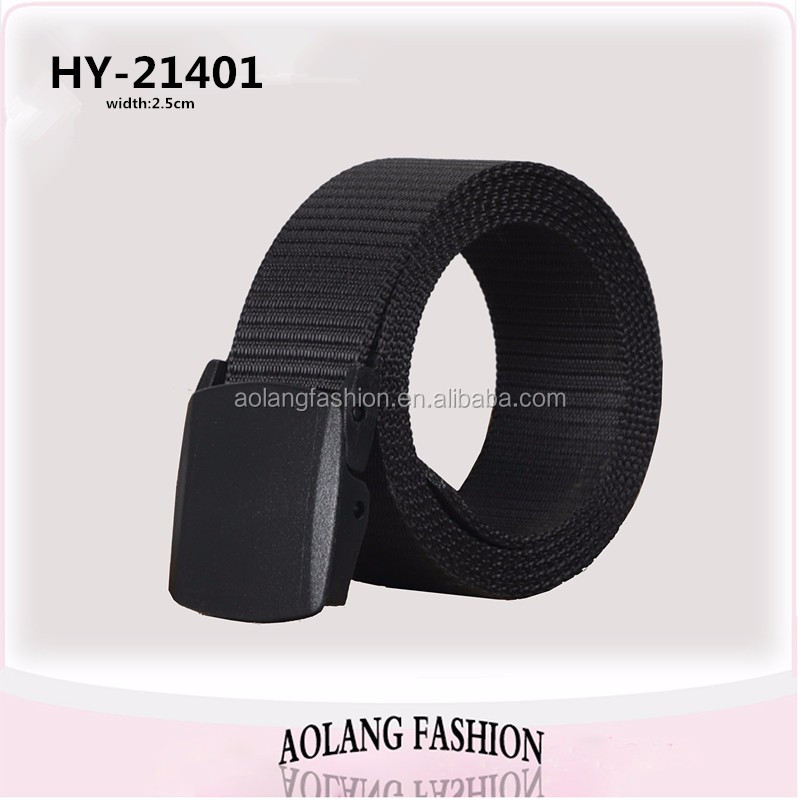 Unisex Fashion Cotton webbing Belt,nylon military webbing belt