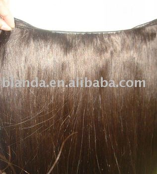 skin weft, hand-tied weaves, clips in human hair extensions