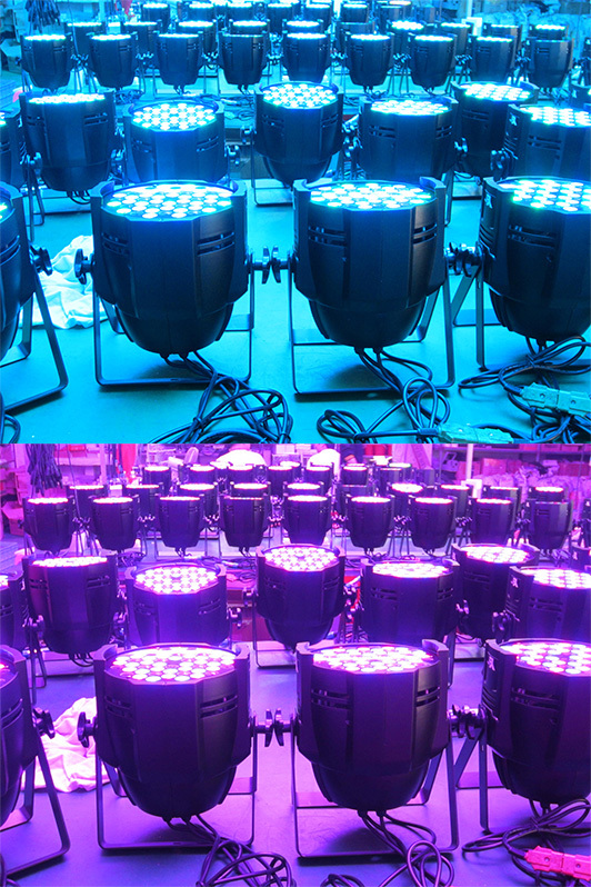 OEM Available Iron Led Flat Par Light, Led Flat Par Light, Led Stage Par Light