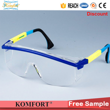colorful frame kids safety goggles