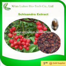 Natural liver protecter HACCP Kosher FDA cGMP certified 9% schisandrin extract schisandra chinensis extract schisandra extract