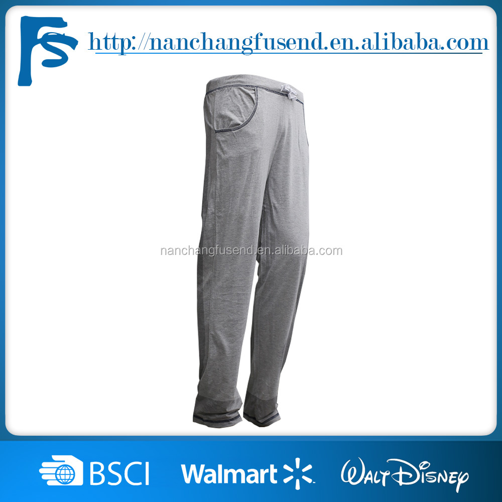 Mens pajama pants,Men's night sleeping trousers