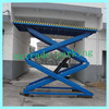 Hydraulic lifting platform motorcycle lift table