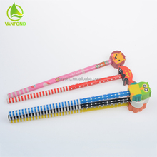High Quality Machine Make Wooden Pencils with Movable Eraser
