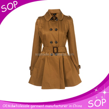 China supplier dress coat ladies winter wear womens korea fashion winter coats