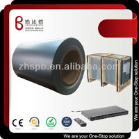 Zhspb superior quality color coated black steel coil for DVD player