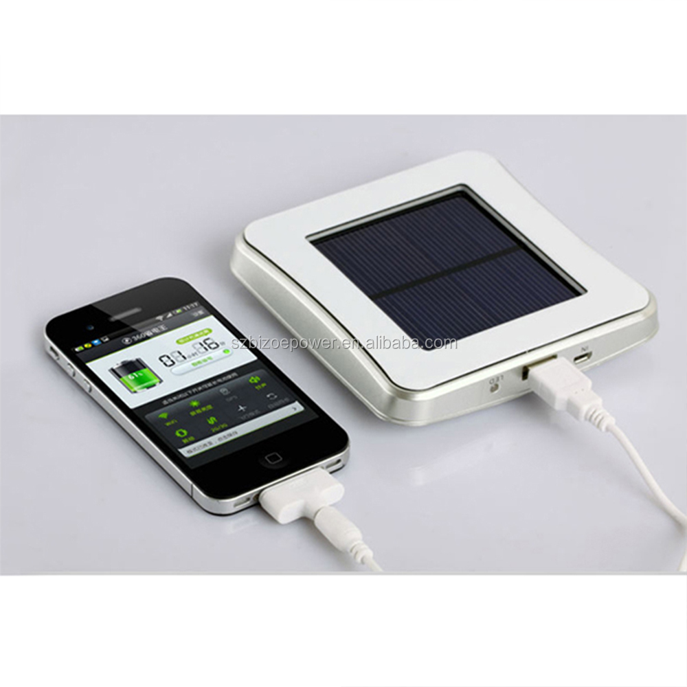 2017 hot sale products mobile solar power bank charger can OEM customer's logo