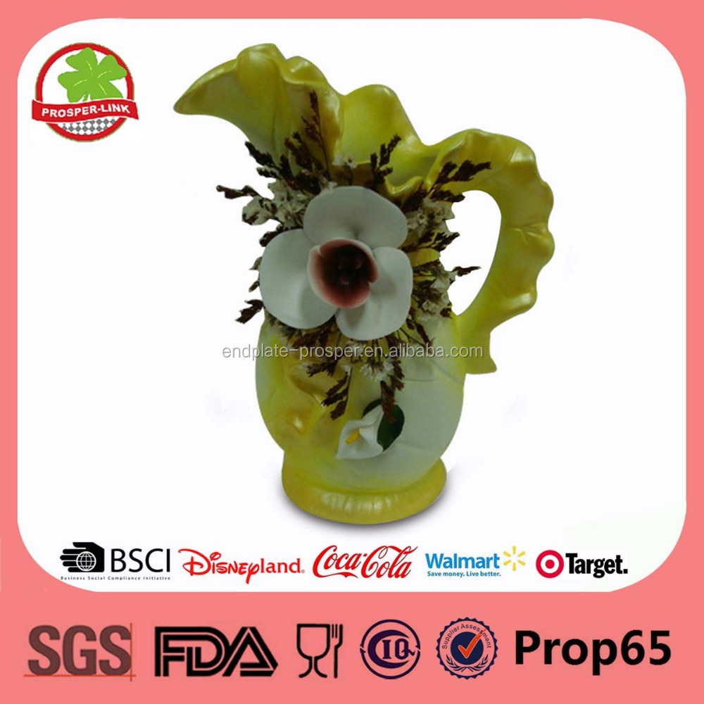 wholesale hand painted ceramic flower vase for decoration