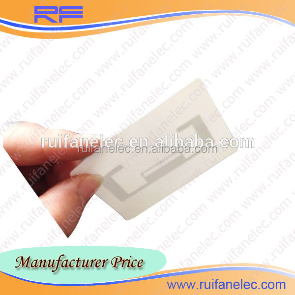 High quality best-selling vehicle windshield rfid tag uhf with golden service
