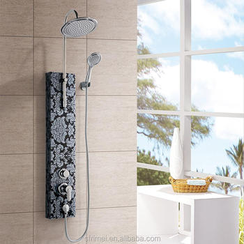Alibaba Online Shopping Bathroom Shower Faucets System Stainless Steel Shower Panel K-1514