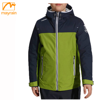 Children unisex rain jacket 2018 fashion children waterproof coat