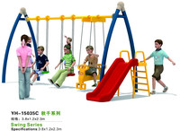 Galvanized Kids Steel Metal Swing Sets
