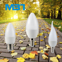 Hot promotion led bulb lights e14 led bulb parts aluminum 170-260v led bulb with 25000 hours life span mbt