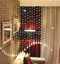 2016 hot sale crystal bead curtains for hotel office or home decor hanging door beads curtain