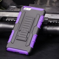 New style robot pc+silica mobile phone case for SAMSUNG S4 mini / i9190