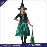OEM Girls Halloween Wicked Witch Dance costumes