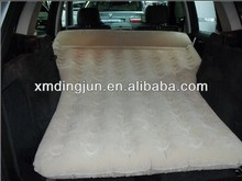 Car air bed for the vehical mattress, car cellular Flocked inflatable air ,flocking and PVC car mattress