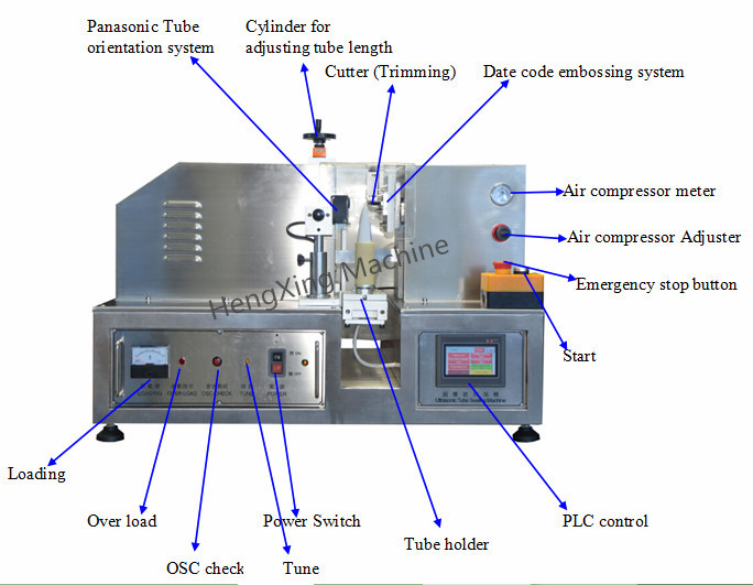 2014 New Condition Tube Sealing Machine Made In China In Stock HX-007
